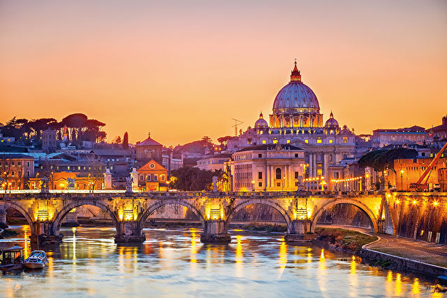 Romantic Rome Stay & Cruise
