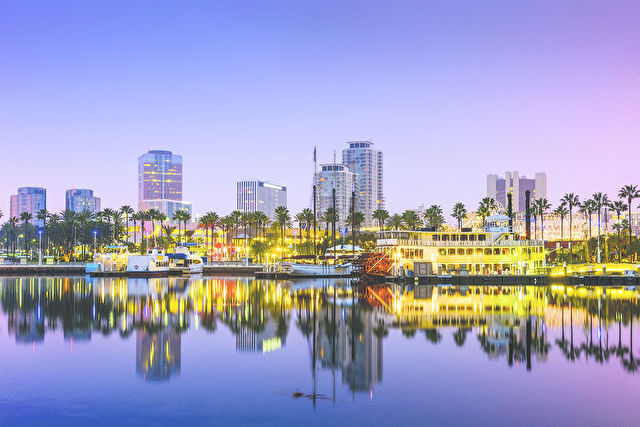 Long Beach with Mexico Stay & Cruise