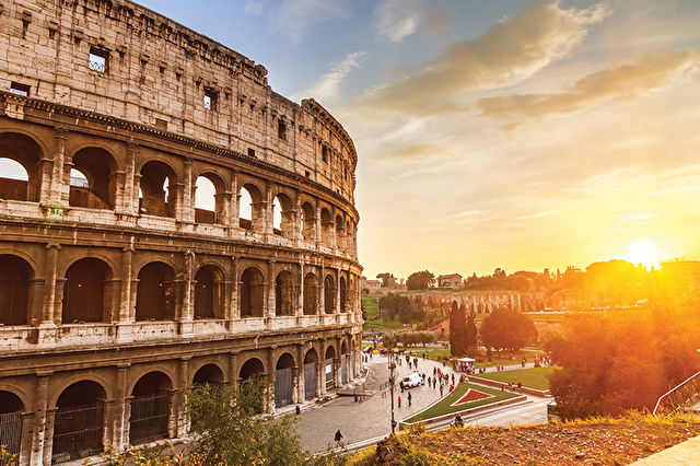 Rome Stay & Western Med Cruise