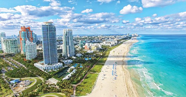South Beach with Western Caribbean Stay & Cruise