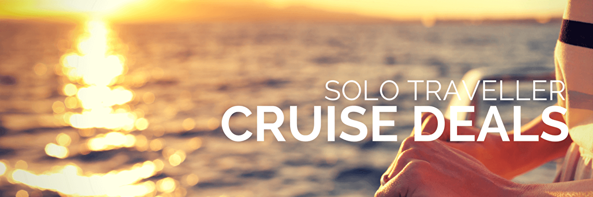 Single Cruise Deals, Solo Traveller, Solo Cruise Deals