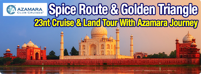India's Golden Triangle with All Inclusive Spice Route
