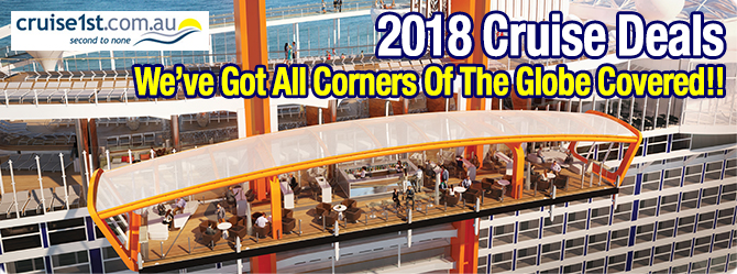 2018 & 2018 Cruises Now on Sale!