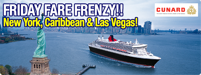 Sail on all 3 Queens in one itinerary!