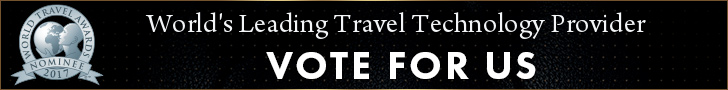 We'd love your help winning World's Leading Travel Technology Provider award