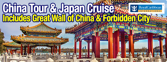 Quantum of the Seas China Tour with Japan Cruise
