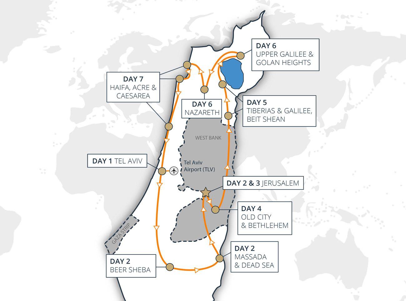 Israel Highlights Tour
