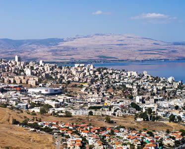 Overlooking Tiberias