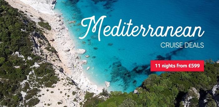 Generic | Mediterranean Cruise Deals | 11 night from £599