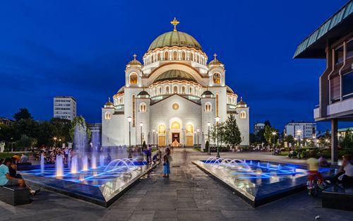 Belgrade - Church Of Saint Sava