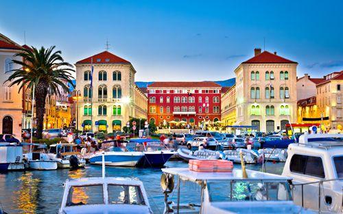 Overnight in Split