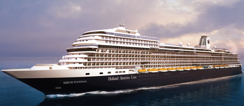 Holland America Cruise Line MS Nieuw Statendam
