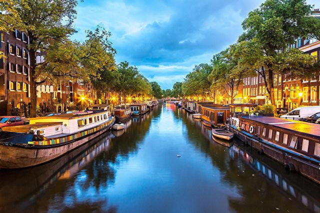 Waterways of Holland and Belgium