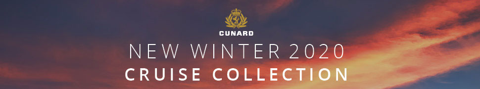 CUnard Cruise Lines 2020 Winter Collection