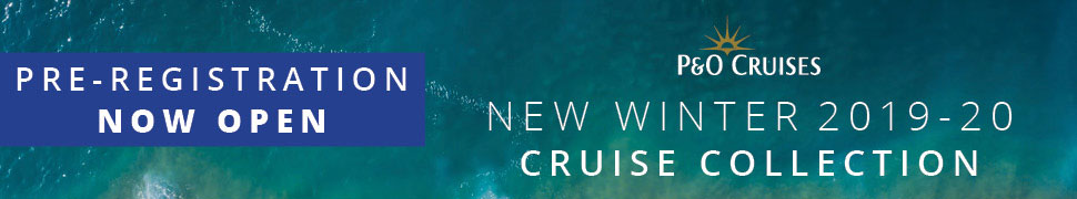 P&O Cruises Brand New Winter 2019/20 Cruise Collection