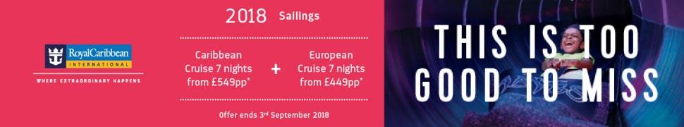 Royal Caribbean 2018 Cruise Deals