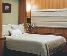Platinum Cabin by night