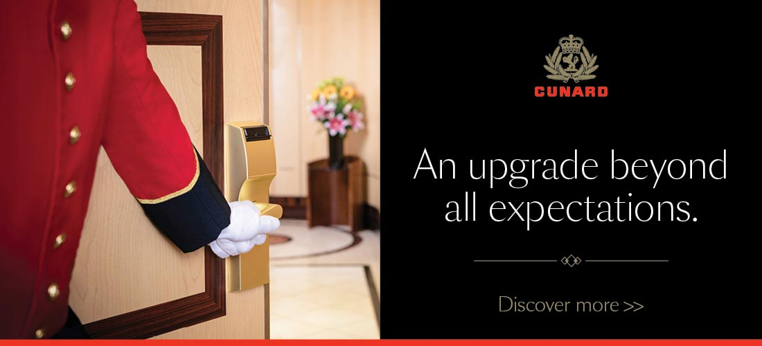 Discover more with Cunard